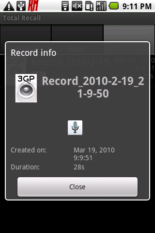 Чем Открыть Записи Разговоров 3Gp Андроид