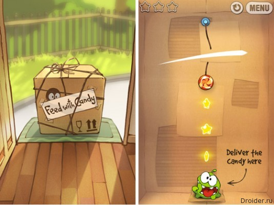 Cut the Rope: Experiments. ZeptoLab