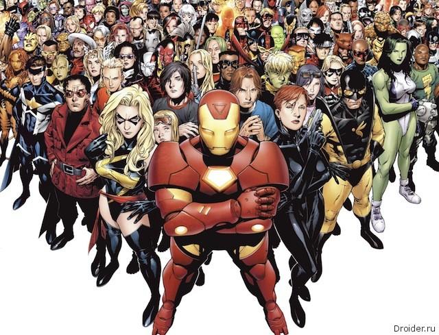 Супергерои буквально сойдут со