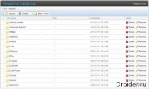 Wireless File Transfer