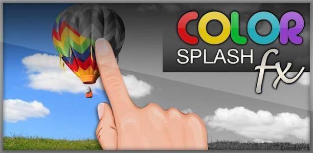 Color Splash FX - цветное на черно-белом
