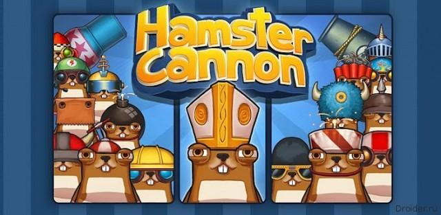 Hamster Cannon - в погоне за вкусняшкой