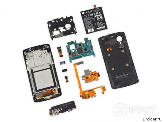 Специалисты iFixit высоко оценили ремонтопригодность нового Nexus