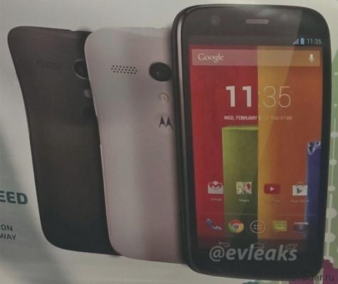 Новый смартфон от Motorola – Moto G. Фото и характеристики новинки [Слухи]