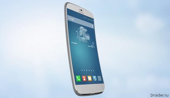 Гибкий концепт Samsung Galaxy S5