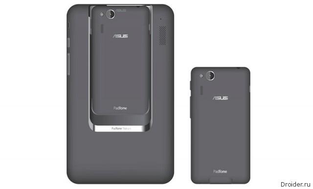 ASUS PadFone mini – маленький «матрёшкофон»