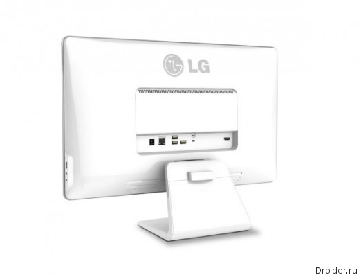 LG announced its first monoblock Chrome OS