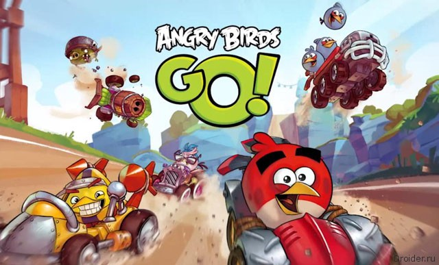 Новые злые птицы. Angry Birds Go!
