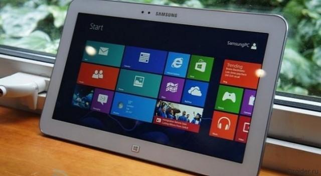 2 новых планшета Samsung будут на ОС Windows