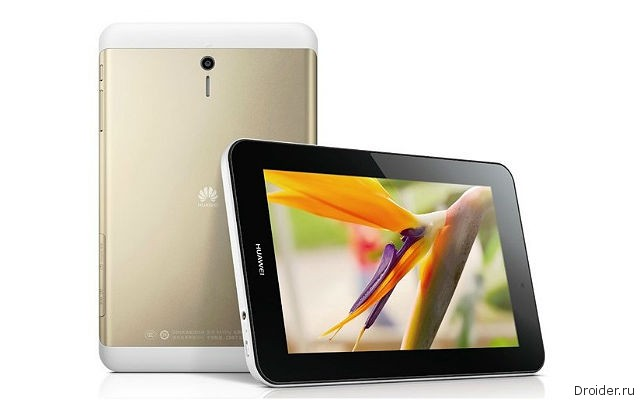 Молодежный планшет MediaPad 7 Youth 2 от Huawei представлен официально
