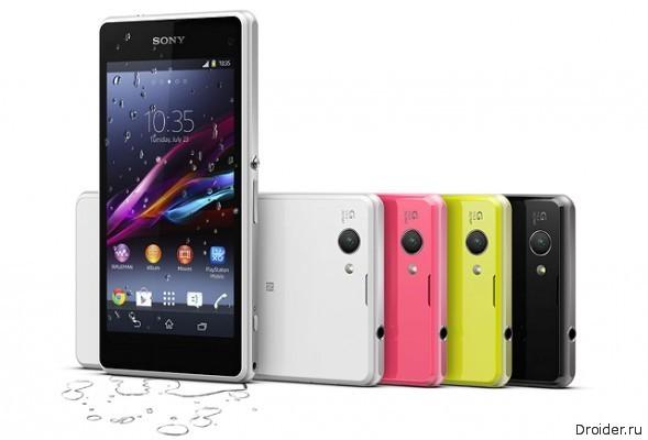 Sony Xperia Z1 Compact появится в России уже в феврале