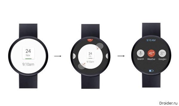 """Умные"" часы от Google"