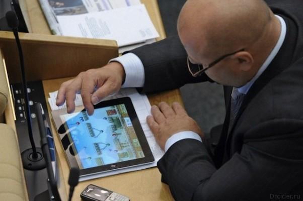 Российские чиновники переходят на Samsung