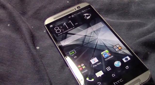 Видеообзор нового флагмана HTC всплыл в сети