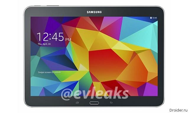 10,1-дюймовый планшет из линейки Galaxy Tab 4 показался на фото