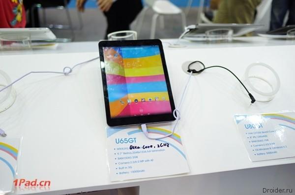 Планшет Cube Talk 9X с емкостью аккумулятора 10000 мАч!