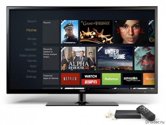 Amazon представила ТВ-приставку
