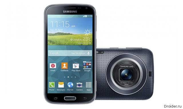 Компания Samsung представила камерофон Galaxy K Zoom