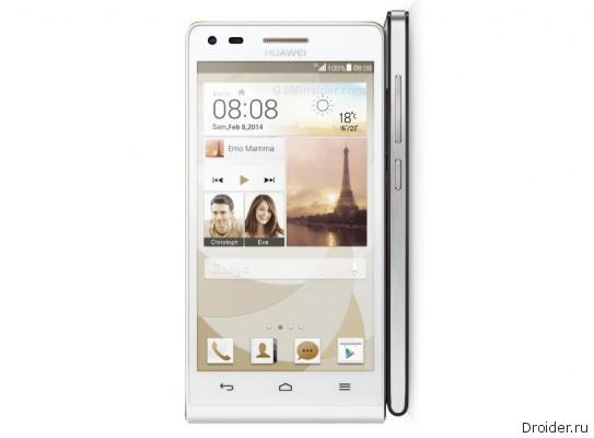 Huawei официально представила Ascend P7 mini