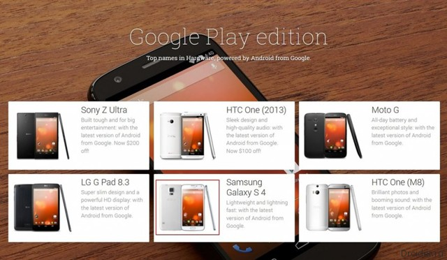 Galaxy S5 Google Play Edition