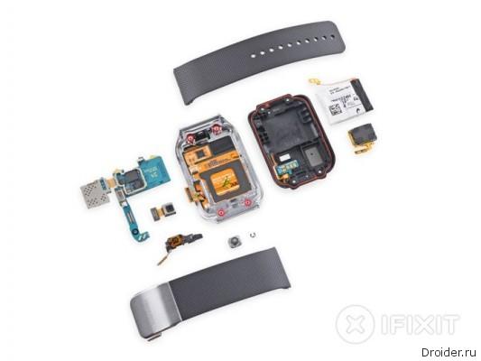 iFixit разобрали Samsung Gear 2