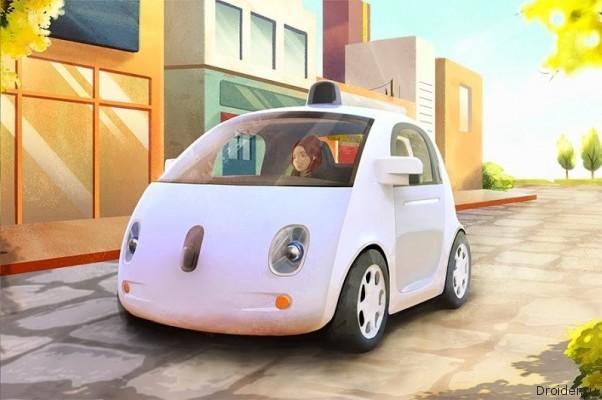 Google создала автомобиль, в котором нет ни руля, ни педалей