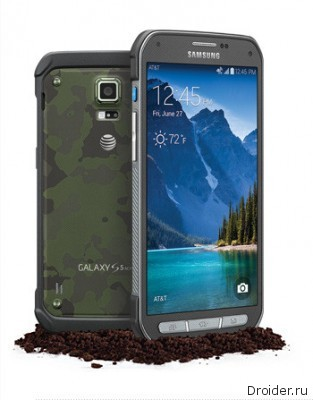Смартфон Galaxy S5 Active представлен официально