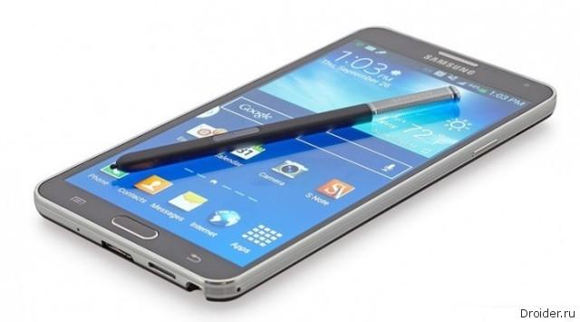 Galaxy Note 4 может быть представлен в начале сентября