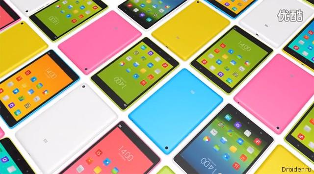 Компания Xiaomi анонсировала планшет Mi Pad