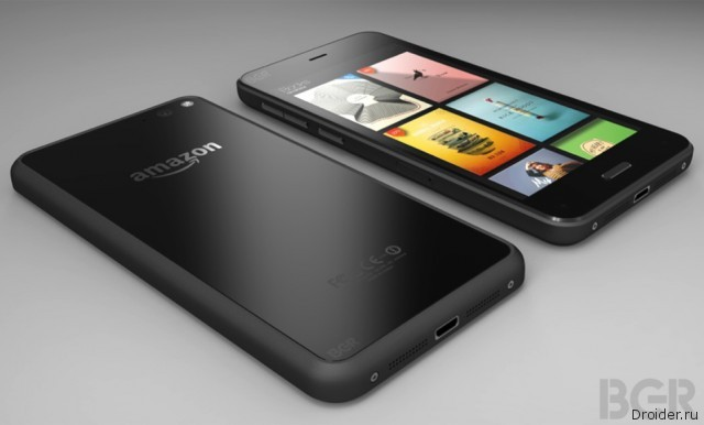 Пресс-рендер нового смартфона от Amazon появился в сети