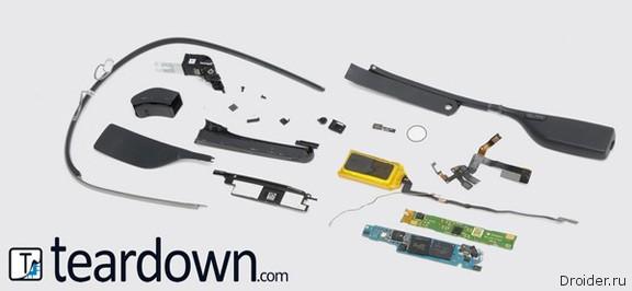 Эксперты подсчитали себестоимость компонентов Google Glass