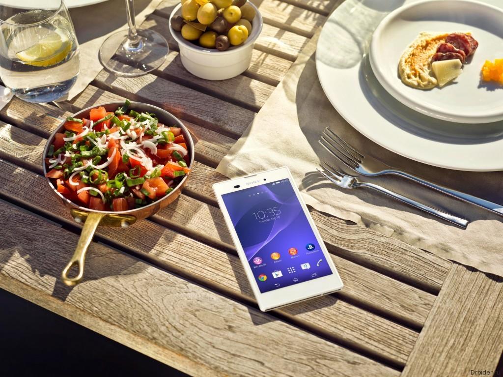 Xperia T3: сверхтонкий 5,3-дюймовый смартфон от Sony