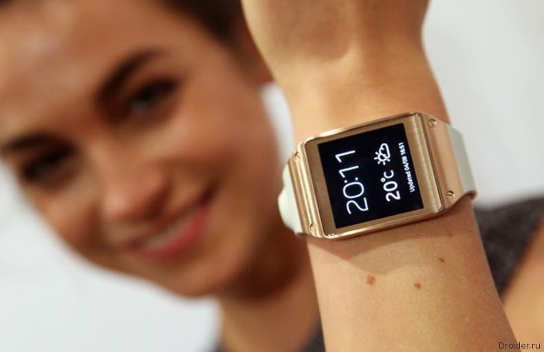 """""""Умные"""" часы Galaxy Gear на Android"""