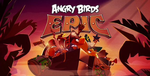 Angry Bird Epic – пошаговая RPG c птичками и хрюшками