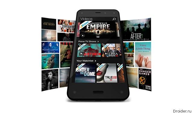 Amazon представила первый собственный смартфон