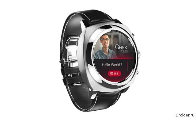 Первые Android-часы с круглым экраном будут представлены сегодня