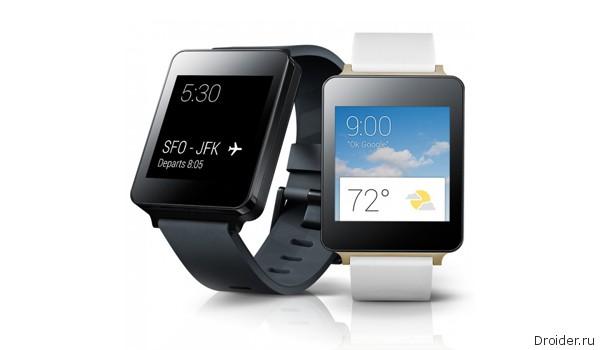 «Умные» часы от LG и Samsung пополнили ассортимент онлайн-магазина Google