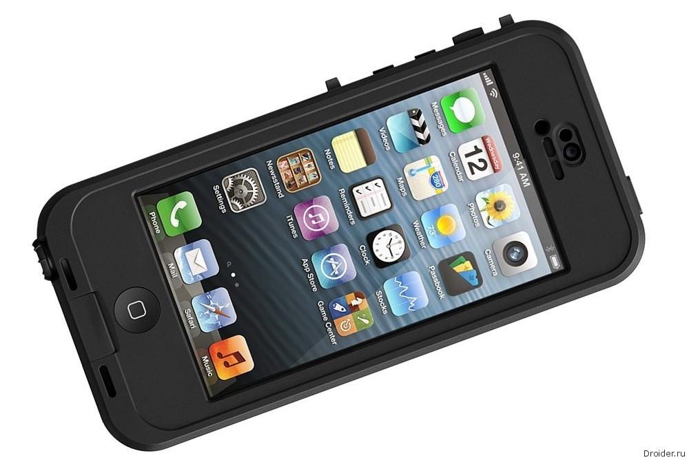 Защищенный чехол Lifeproof nüüd для iPhone 5/5S
