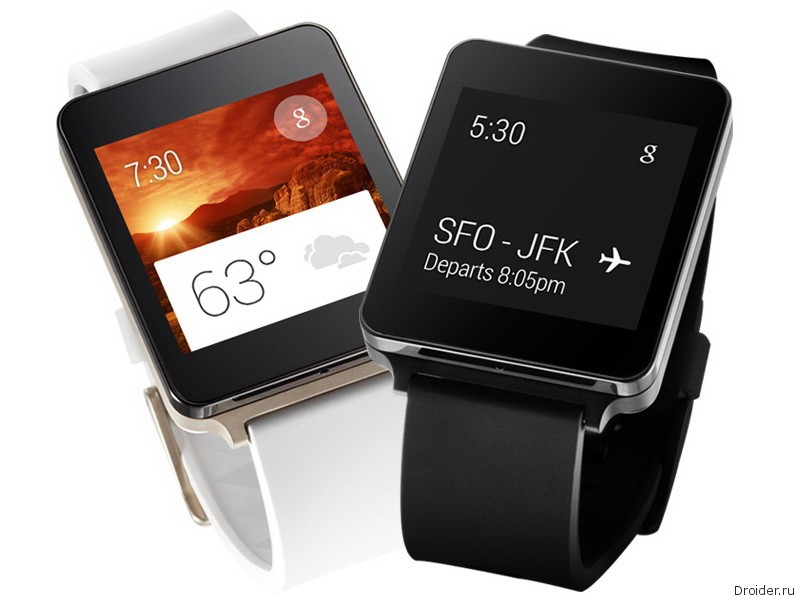 Смарт-часы G Watch от LG
