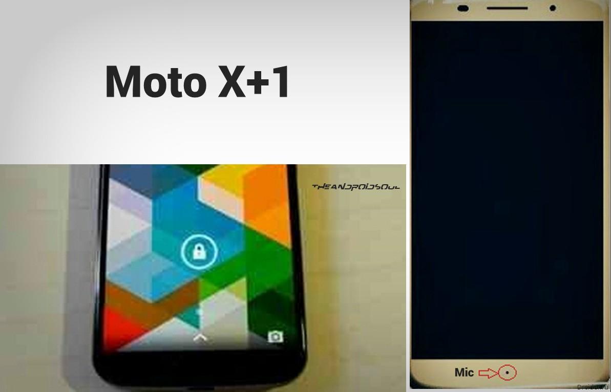 Шпионские снимки якобы настоящего смартфона Moto X+1 от Motorola