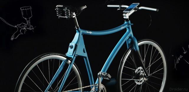 Samsung показала «умный» велосипед