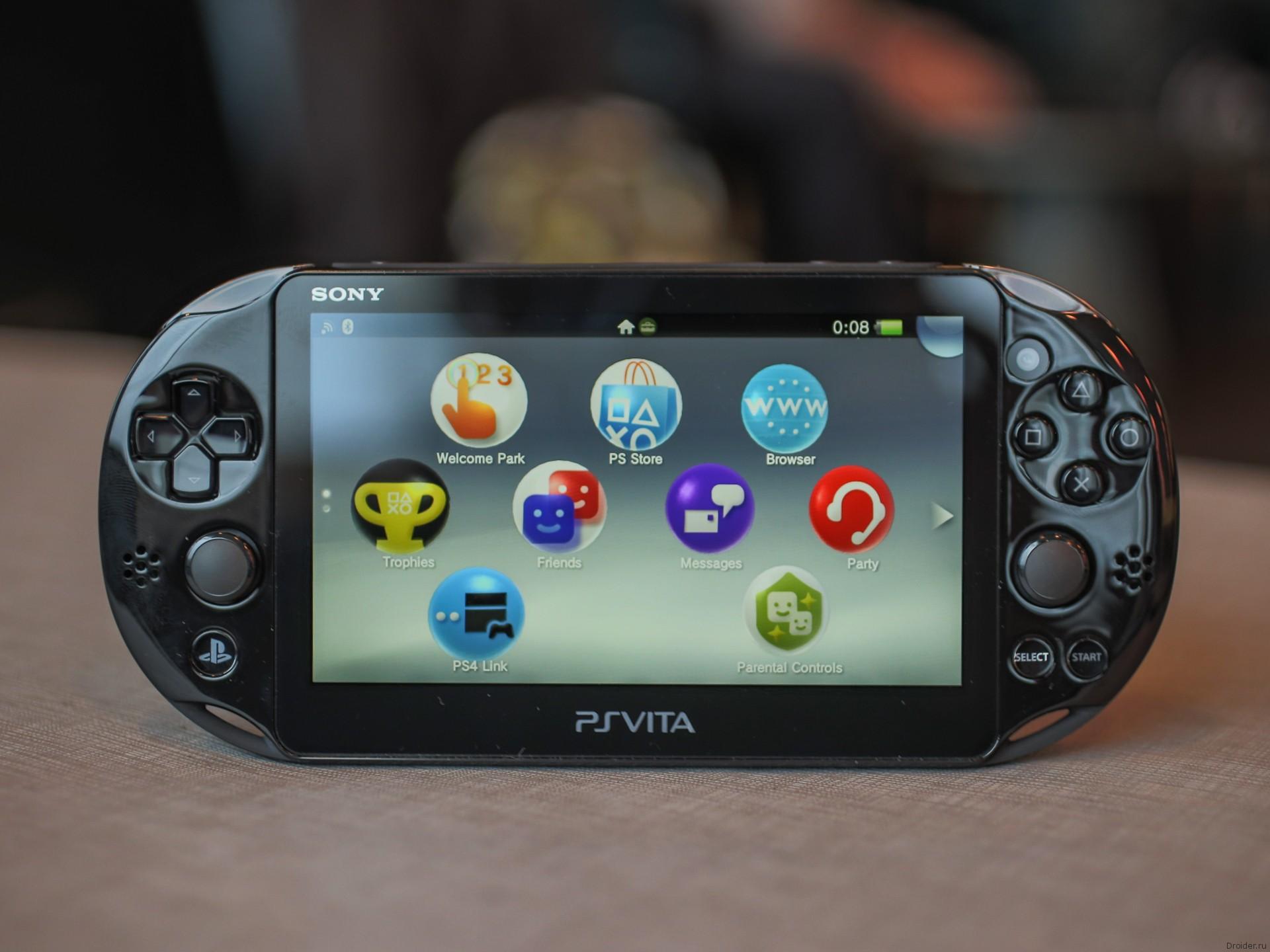 Портативная консоль PlayStation Vita Slim от Sony