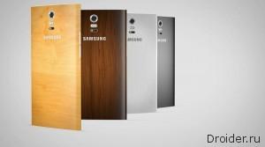 Концепт Galaxy Note 4 от дизайнера Vishal Bhanushali