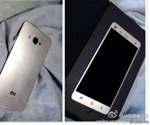 «Живые» снимки флагмана Mi4 от Xiaomi попали в сеть