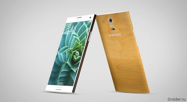 Привлекательный концепт Galaxy Note 4 от Samsung