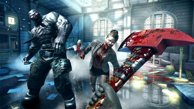 Скрин из игры Dead Trigger 2