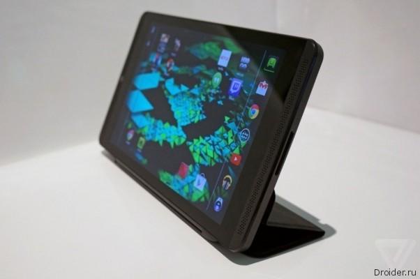 Компания Nvidia анонсировала мощный планшет Shield