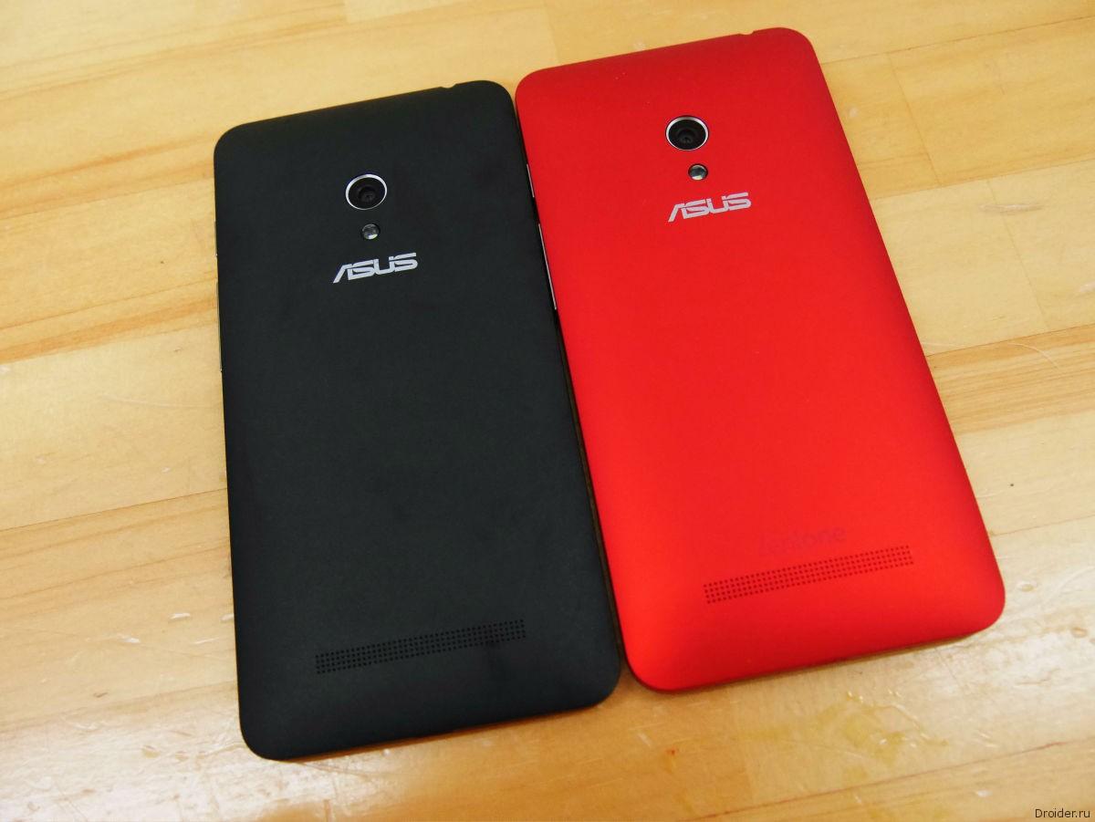 Смартфон ZenFone 5 от ASUS со сменными панельками разных цветов