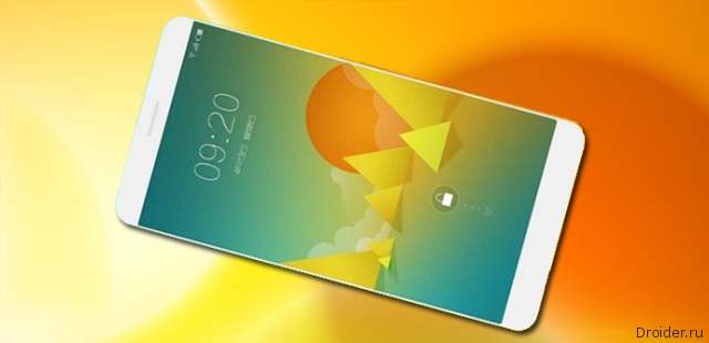 Изображение смартфона MX4 от Meizu