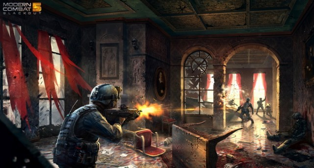 Пресс-изображение игры Modern Combat 5: Blackout